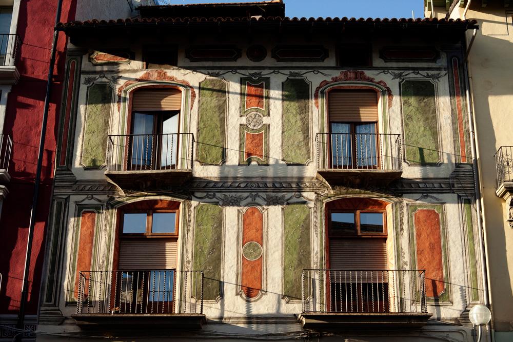 La casa de Can Fiter, al carrer Major de la Seu d'Urgell - PMRMaeyaert
