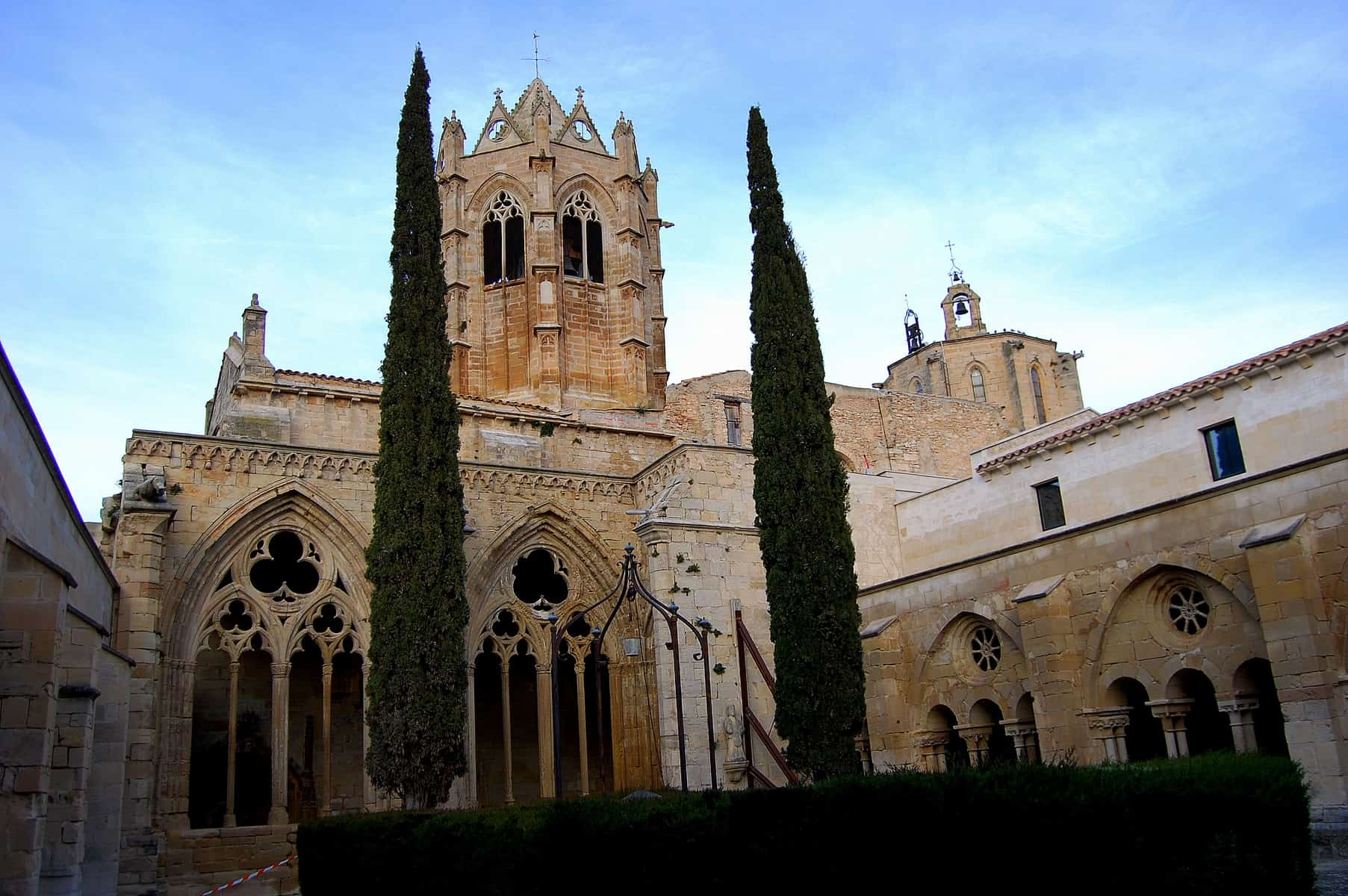 El monestir de Santa Maria de Vallbona, a Vallbona de les Monges. Crèdit: Àngela Llop